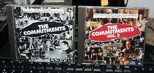 """OST.  """"THE COMMITMENTS. Vols. 1 & 2""""  2CD UK  1991/2. NM COND."""