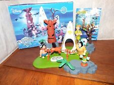 RARE Disney Peter Pan Heroes Indian Chief Camp figure toy playset Famosa boxed