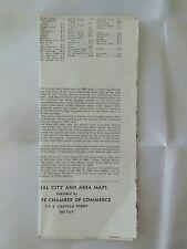 Santa Fe Chamber of Commerce New Mexico's Capital City Street Map