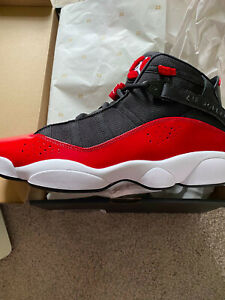 🔥NWB Air Jordan 6 Rings BRED Black/White/Gym Red 🔥Reg $175
