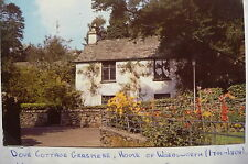 1970's VINTAGE POSTCARD - DOVE COTTAGE, GRASMERE - WILLIAM WORDSWORTH