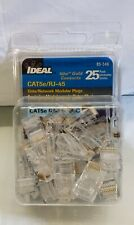 25 Pack Ideal 85-346 Data/Network Modular Plugs Plug CAT5e/RJ-45 #14C32TK