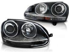 FARI ANTERIORI LPVW20 VW GOLF 5 2003 2004 2005 2006 2007 2008 2009 GTI NERO