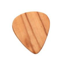 Guitare électrique acoustique de plectre de support de guitare lisse bois