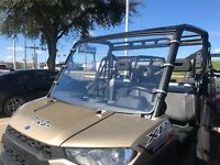 2014-2019 POLARIS RANGER XP 900,900 CREW 1//4 POLYCARBONATE  REAR WINDSHIELD