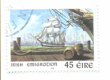 Ireland-Emigration-Ships USA fine used(12180