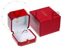 CARTIER RING BAGUE LANIERES DIAMANT EHERING WEDDING BAND 18K WHITE GOLD+DIAMOND