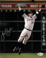 Joe Crede signed 8x10 photo Chicago White Sox BAS Beckett Autographed