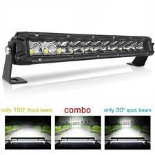 12 inch Single Row LED Light Bar Spot Beam Driving Work Fog Light 120W