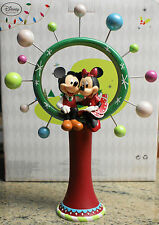 New Disney Store MICKEY & MINNIE Share the Magic Christmas Tree Topper