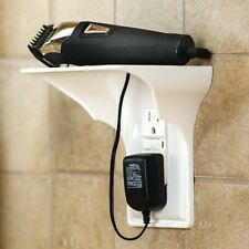 Shelf Outlet Wall Power Perch Space Saving Solution Charging Cell Phones Speaker