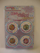 MINI GLITTER SHAPES  HEARTS,FLOWERS, STARS FOR CRAFTS