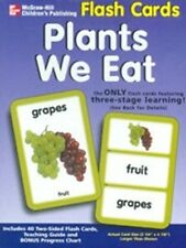 Plants We Eat Flash Cards by McGraw-Hill, Includes 40 Two-Sided Flash Cards