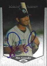 Alex Gonzalez Detroit Tigers 1998 Upper Deck SP Signed Card