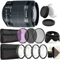 Canon EF-S 18-55mm f/3.5-5.6 IS STM Lens w/ Accessory Kit For Canon 80D & 1300D