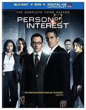 Person of Interest Complete Third Season 3 Three NEW BLU-RAY/DVD &  DIGITAL COPY