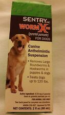 SENTRY HC WormX DS (pyrantel pamoate) Canine Anthelmintic Suspension De-wormer