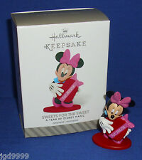 Hallmark Ornament Year of Disney #7 2014 - 2015 Valentine's Day Sweets Minnie