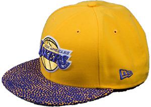 Los Angeles Lakers Snapback New Era NBA Adult Team Vize Snapback - New