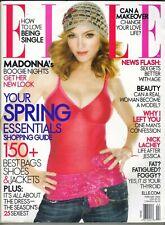 MADONNA Elle Magazine February 2006 2/06 NICK LACHEY