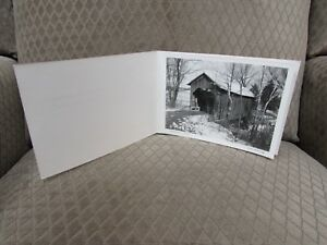 """Frank Hohenberger 1951 Signed Photo """"A Weathered Servant"""" Christmas Card"""