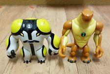 Ben 10 Figura pacchetto include cannonbolt & humungousaur cartoni animati lotto