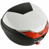 32L Motorcycle Tail box Helmet Top Case Motorbike Luggage Storage Trunk Carrier
