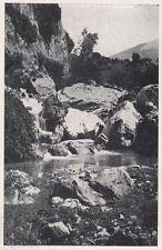 D2071 Il Torrente sotto Lagonegro - Stampa d'epoca - 1923 vintage print