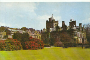 Cumbria Postcard - Holker Hall - View From The Croquet Lawn - Ref TZ7755