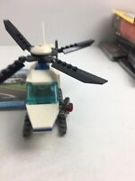 Lego City Police Helicopter Set Complete w/Instruction Book - 7741