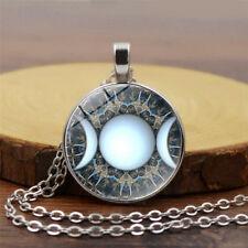 Triple Goddess Pendant Jewelry, Witchcraft , Moon Goddess Jewelry, Moon Necklace