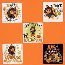 15 Dora the Explorer Halloween - Large Stickers - Party Favors