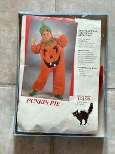 Halloween Costume 'Punkin Pie' Playwear - Sleepwear Approved - Child Size Small