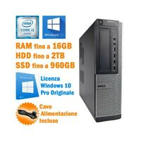 PC DESKTOP COMPUTER FISSO DELL OPTIPLEX 7010 SFF I3 3240 RS232 WINDOWS 10 PRO-