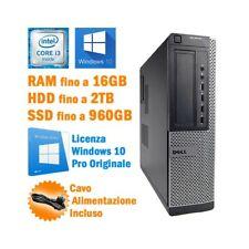 Desktop Computer Dell OptiPlex 7010 SFF I3 3240 RS232 Windows 10 Pro