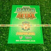 10/11 EXTRA LIMITED EDITION 100 CLUB CARD MATCH ATTAX 2010 2011 HUNDRED LTD