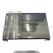 NEW Dell Studio 1555 1557 1558 Metallic Silver LCD Cover w Hinges Power Button