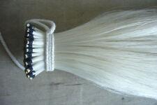 """Stallion Mongolia horse tail hair violin Bowhair 31"""" 10 hanks each bundle"""