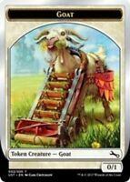 4x Goat Token (002/020) FOIL MTG Unstable NM Magic Regular