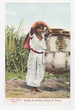 Oaxaca,Mexico,Tipos de Indios,Peasant Indian Girl of Oaxaca,c.1901-06