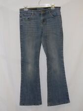 A Steal! CITIZENS of HUMANITY Med Blue Denim Wide Leg JEANS PANTS sz 27 US 6 - 7
