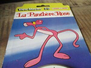 La panthère rose-1978-Ancien pack View master-21 vues-scellé,neuf