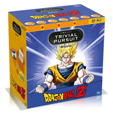 Trivial Pursuit Dragon Ball Z Winning Moves