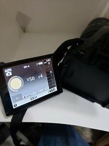 Nikon D5100 16.2MP DSLR Camera - Black READ