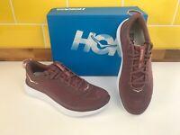 Hoka One One Hupana Flow Rose Brown Womens UK 6.5 Trainers / Running Shoes BNIB