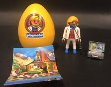 Vintage Playmobil 9292  Veterinarian Cat Yellow Easter Egg 1997