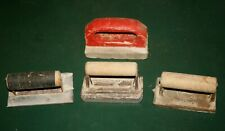 Assorted Lot Of 4 Concrete Finishing Hand Tools Groovers Edger Hand Stone