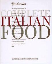 Carluccio's Complete Italian Food, Carluccio, Antonio, Good Condition, Book