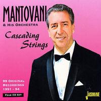 MANTOVANI Cascading Strings CD box set 2005 4 discs greatest hits best of