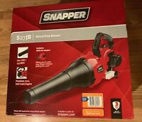 Snapper 135 MPH 650 CFM Full Crank 2-Cycles 27cc Gas Blower with electric start